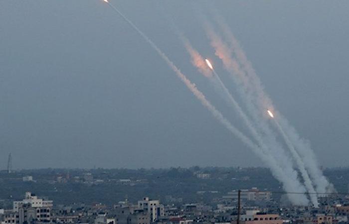إطلاق قذيفة صاروخية من غزة باتجاه إسرائيل
