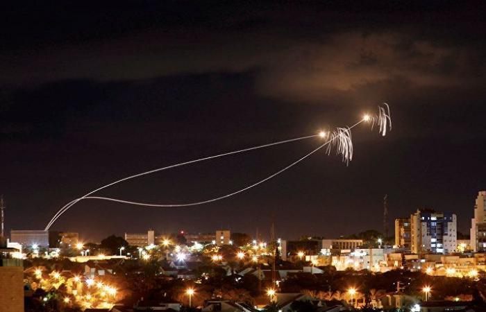 بالفيديو.. حالة من الهلع في إسرائيل بسبب صواريخ غزة