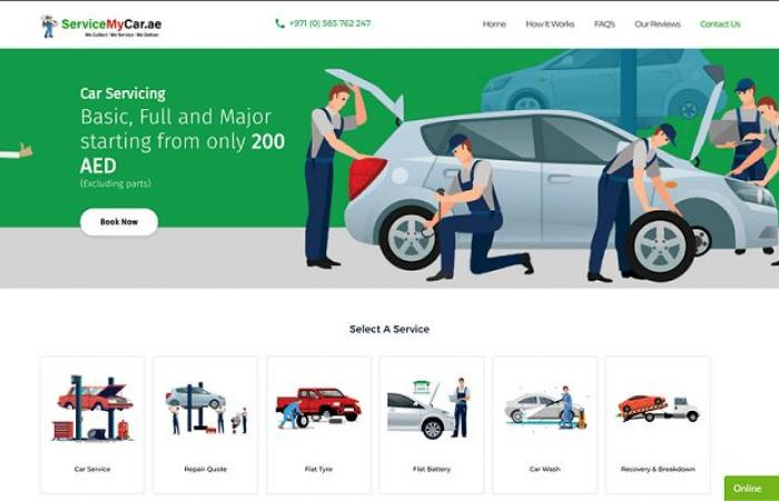 ServiceMyCar.ae لخدمة السيارات تطلق خدماتها رسميًا في دبي