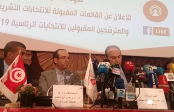 الداخلية التونسية تعلن عن خطة لتأمين المترشحين