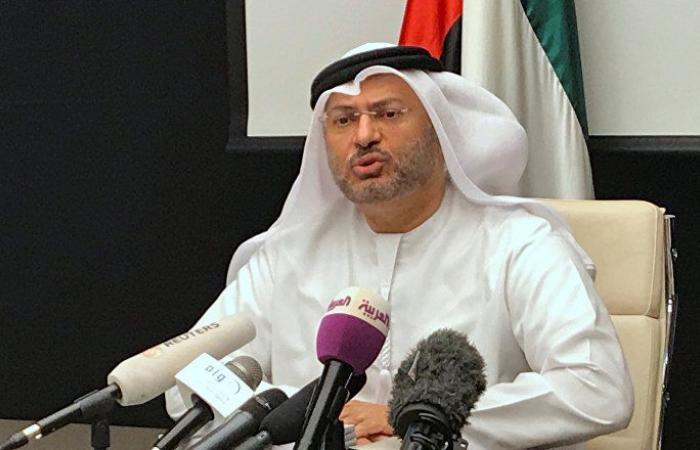 """قرقاش: نأمل في نجاح """"اجتماع جدة"""" بين الحكومة اليمنية والانتقالي الجنوبي"""