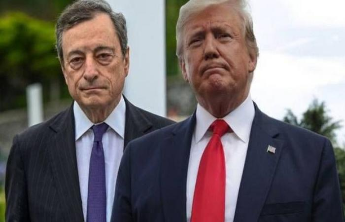 رداً على تصريحات ترامب بشأن اليورو..دراجي: لا نستهدف سعر الصرف