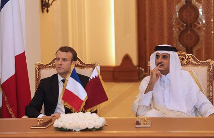 في نفس اليوم... أمير قطر ورئيس وزراء السودان يلتقيان ماكرون