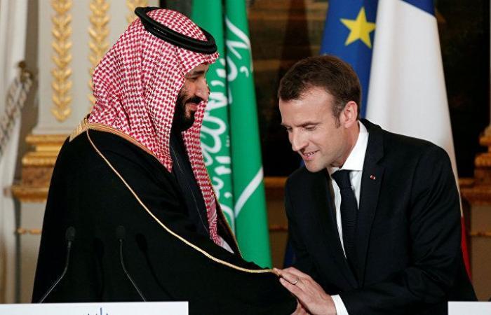 ماكرون يتصل هاتفيا بولي عهد السعودية لبحث الهجمات على أرامكو