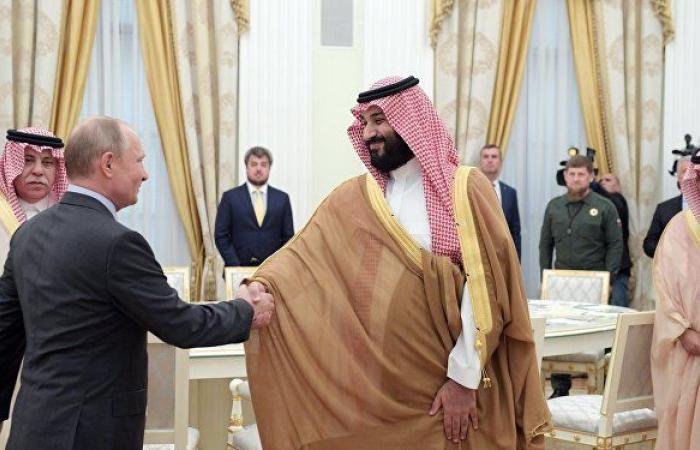 وكالة: محمد بن سلمان يؤكد لبوتين رغبة المملكة في إجراء تحقيق دولي
