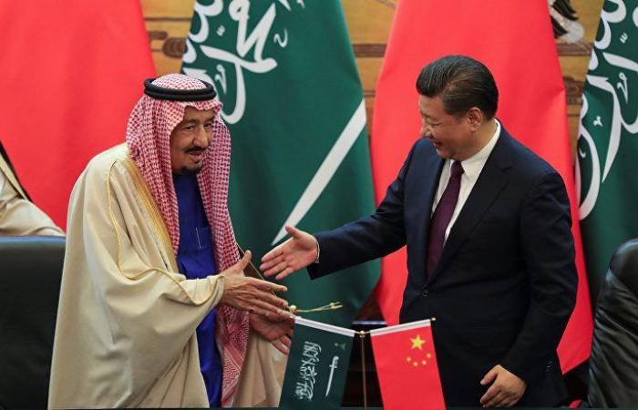 """الرئيس الصيني يدين هجمات """"أرامكو"""" في اتصال مع الملك سلمان"""