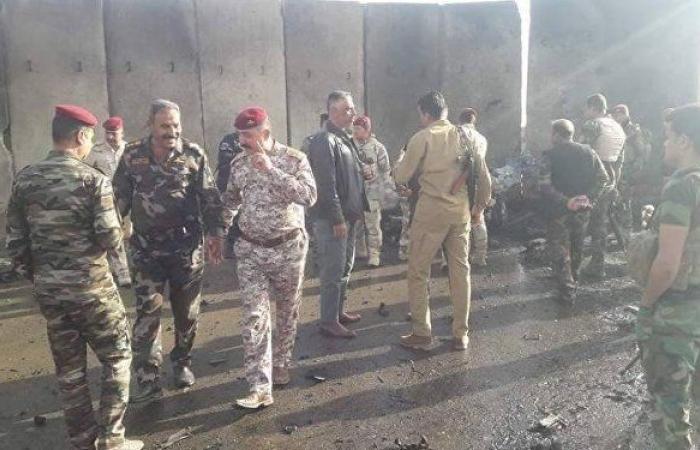 داعش يعلن مسؤوليته عن مقتل 12 شخصا في تفجير حافلة قرب كربلاء