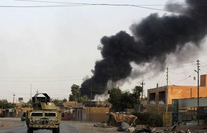 """""""طائرات مسيرة"""" تقصف مقرا للحشد الشعبي العراقي غربي الأنبار"""