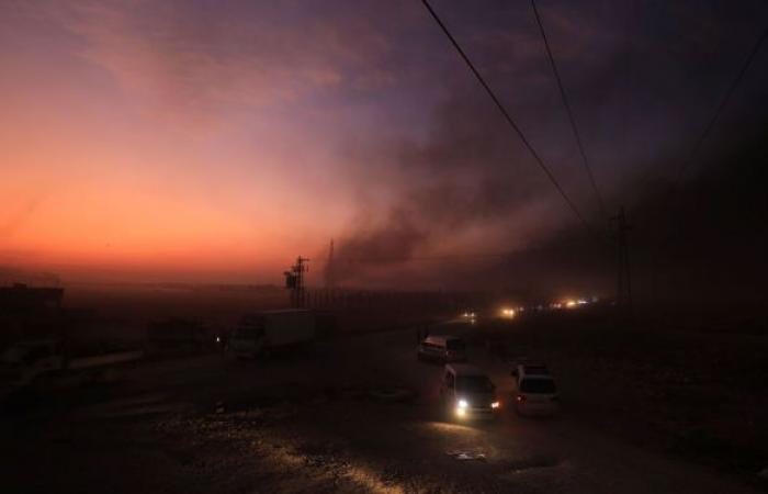 """مصدر مسؤول بـ """"قسد"""": إسقاط طائرة استطلاع تركية وإعطاب 4 آليات"""