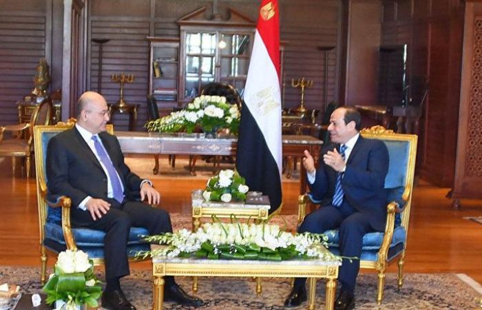 الرئيسان المصري والعراقي بحثا هاتفيا الوضع في سوريا بعد الهجوم التركي