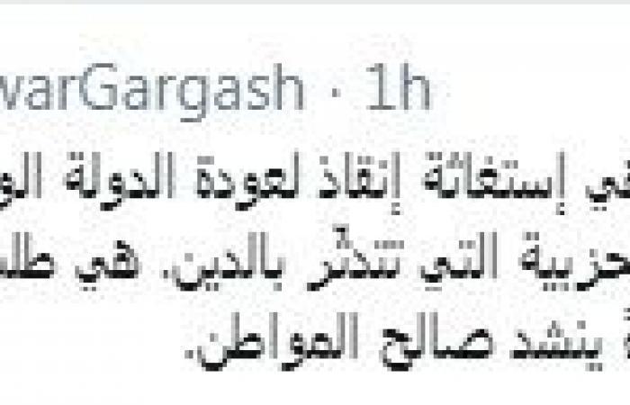 أنور قرقاش يعلق على المظاهرات بالدول العربية