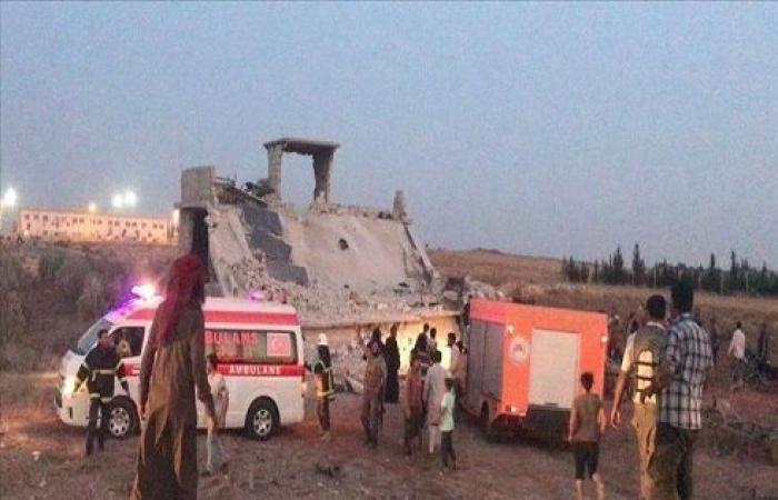 مقتل مدنيين اثنين وإصابة 4 في تفجير إرهابي شمالي سوريا