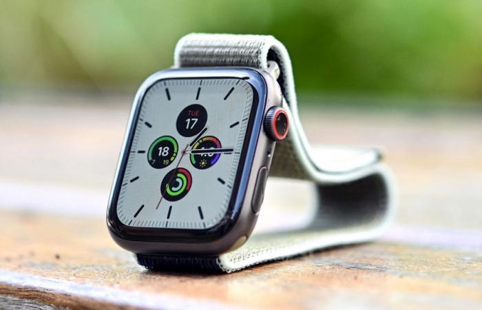آبل تسعى لإضافة تقنية Touch ID إلى ساعتها