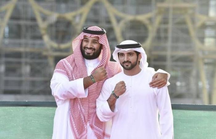 بالصور..ولي عهد السعودية وحمدان بن محمد يزوران موقع إكسبو 2020