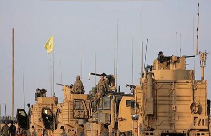 قوات أمريكية تنشر عشرات الآليات قرب حقول النفط بعد سحبها من ريفي الرقة والحسكة