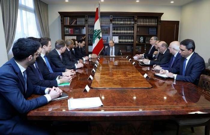 """""""عون"""": تشكيل الحكومة سيساعد أصدقاء لبنان على استكمال مسار """"سيدر"""""""