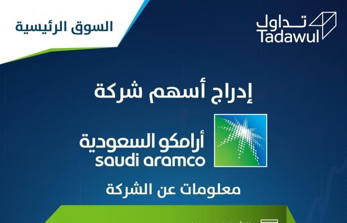 """إنفوجرافيك.. معلومات عن """"أرامكو السعودية"""" في أولى جلساتها بـ""""تداول"""""""