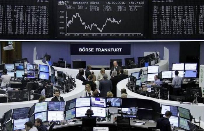 محدث.. الأسهم الأوروبية تتراجع بالختام من مستويات قياسية