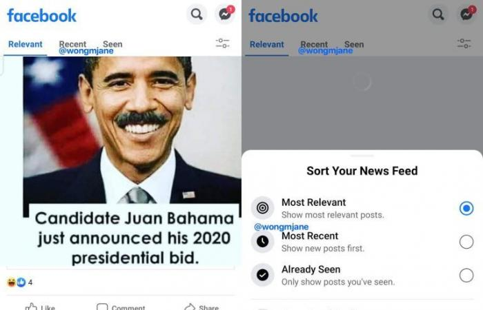 فيسبوك تختبر ميزة ستغير طريقة رؤية المنشورات