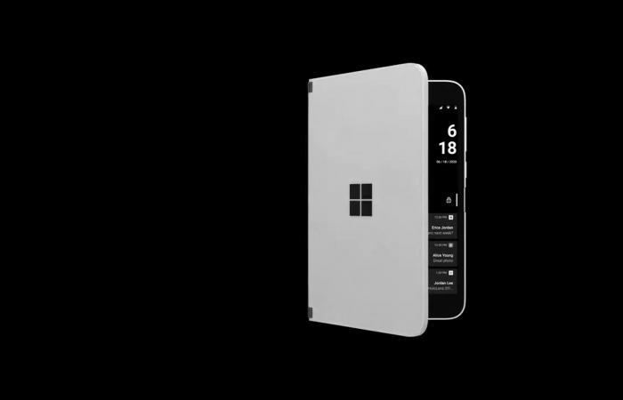 """فيديو مسرب يكشف عن ميزة """"النظرة الخاطفة"""" في Surface Duo"""