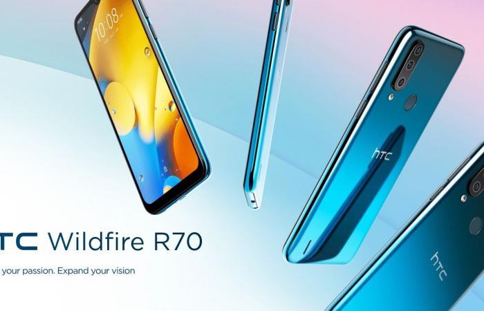 لم تستسلم.. HTC تعلن عن هاتفها الجديد HTC Wildfire R70