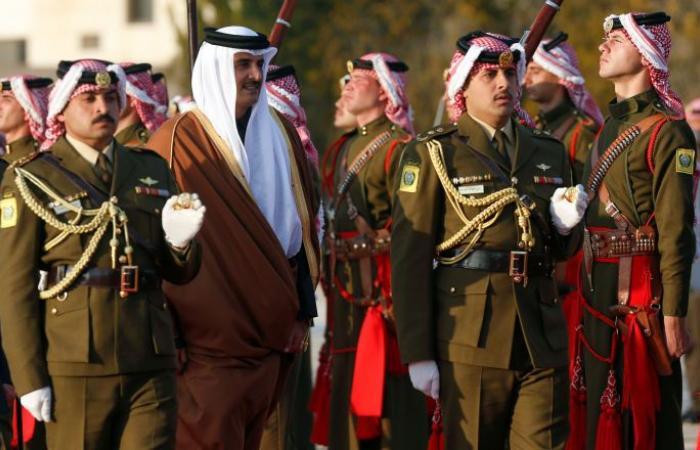 مراسم استقبال رسمية لرئيس وزراء باكستان في قطر... بالصور