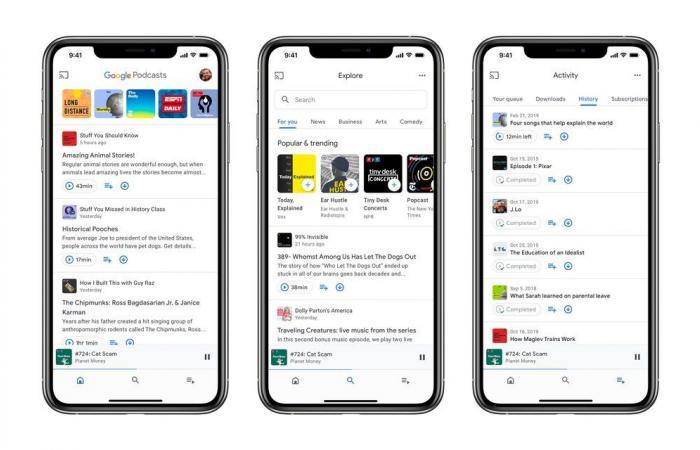 جوجل تجلب تطبيق Podcasts إلى iOS