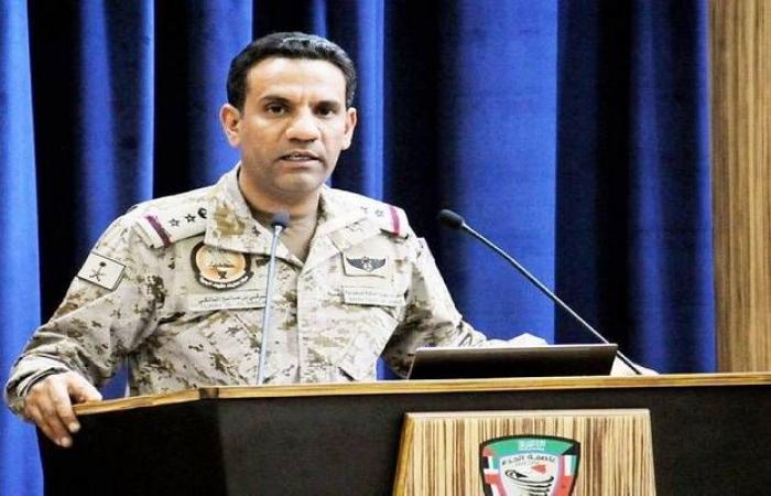 قيادة التحالف: نؤيد قرار الحكومة اليمنية بقبول وقف إطلاق النار