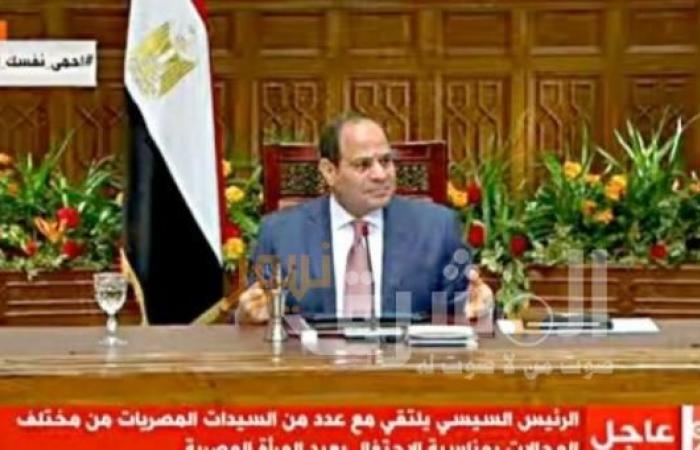 """الرئيس السيسي: ما تحقق حتى الآن من إجراءات لمواجهة """"كورونا"""" يدعو للإطمئنان"""