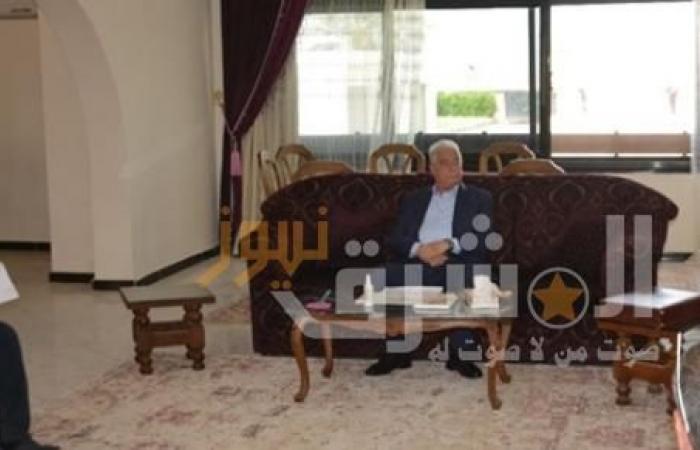"""""""فودة"""" يتابع المشروعات الجاري تنفيذها بمدن جنوب سيناء"""