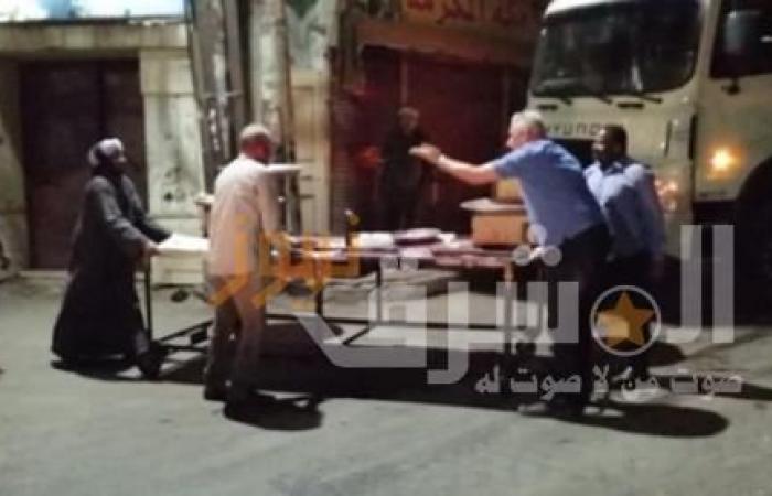 مصادرة 60 عربة خضار مخالفة بالأقصر خلال 48 ساعة