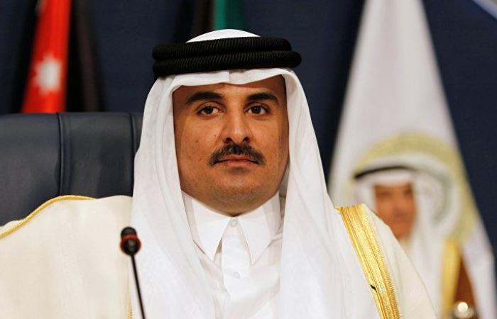 تفاصيل الاتصال الهاتفي بين أمير قطر ومحمود عباس