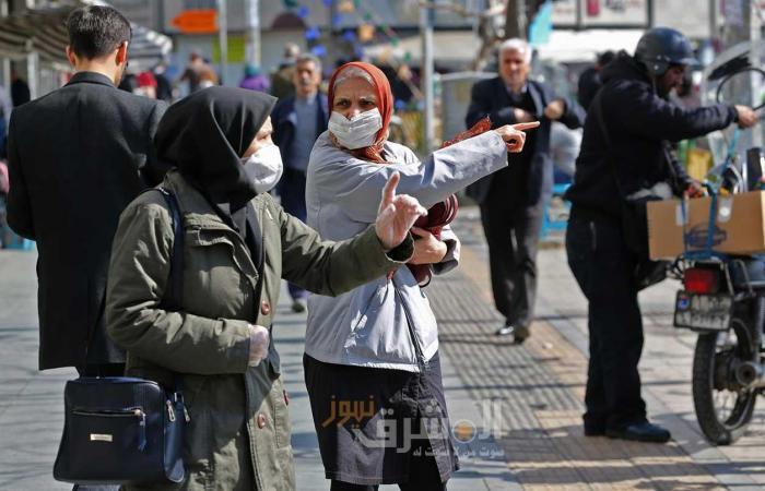 متحدث: وفيات كورونا في إيران 4232