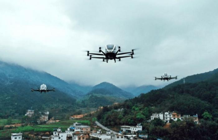 الصين تبني أول مطار في العالم للمركبات الذاتية الطيران
