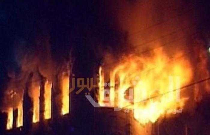 وفاة طفل بحريق نشب في منزل بسوهاج