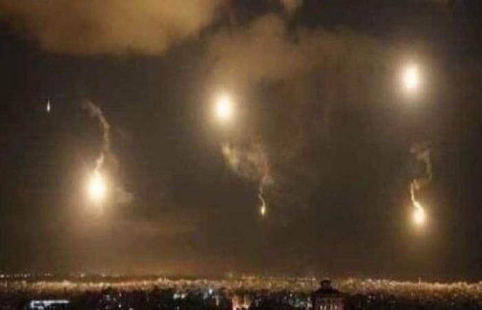 دفاعات النظام السوري تتصدى لغارات إسرائيلية