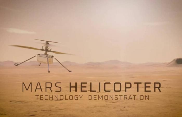 شاهد مروحية ناسا Ingenuity التي ستُحلّق في سماء المريخ