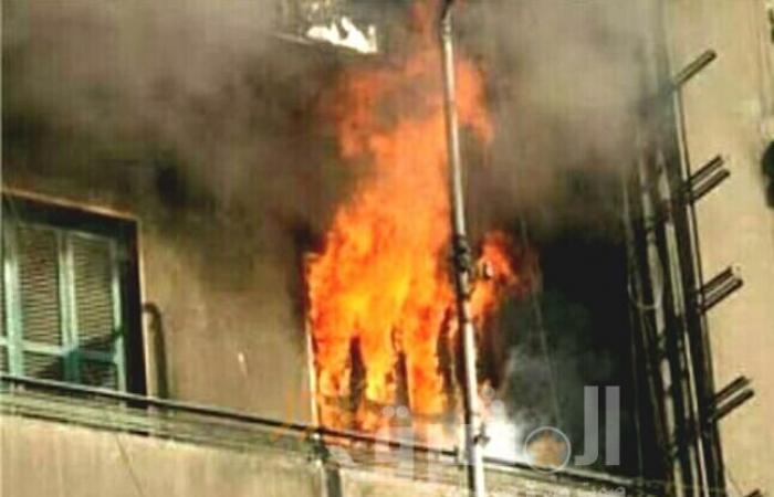 اندلاع حريق بعقار ببولاق الدكرور والحماية المدنية تسيطر على الموقف