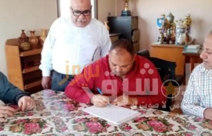 علاء الشربيني يتفقد مركز شباب المحمودية بدكرنس