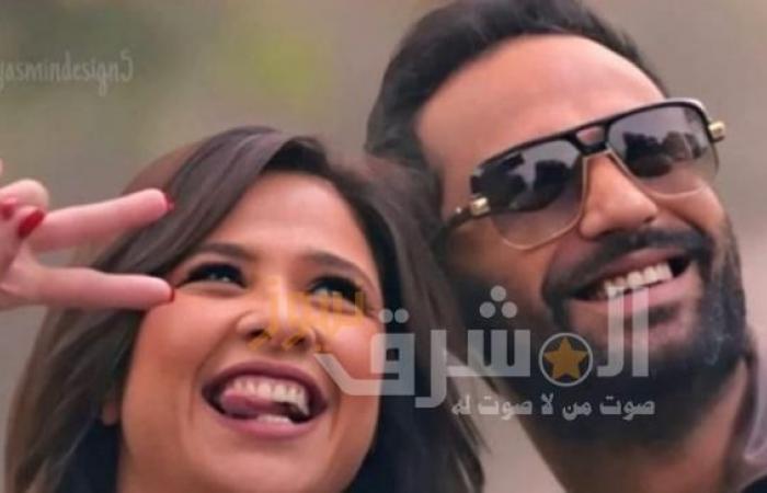 ياسمين عبدالعزيز تشارك بصورة تجمعها بكريم فهمي