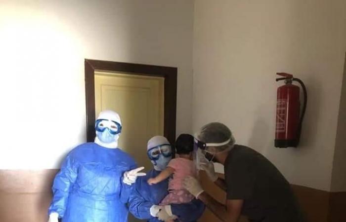 """تعافي 6 حالات جديدة من مقر """"عزل كورونا"""" في بني سويف"""