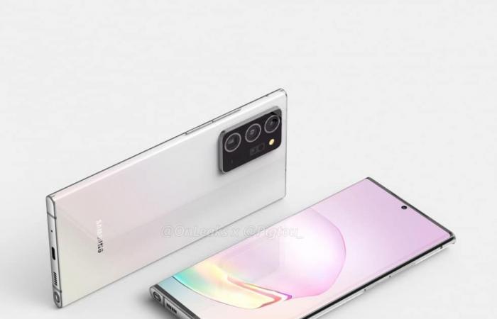 تسريب يكشف عن مواصفات كاميرات +Galaxy Note20 المرتقب
