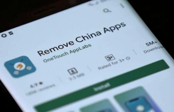 جوجل تحذف تطبيقًا هنديًا يستهدف التطبيقات الصينية