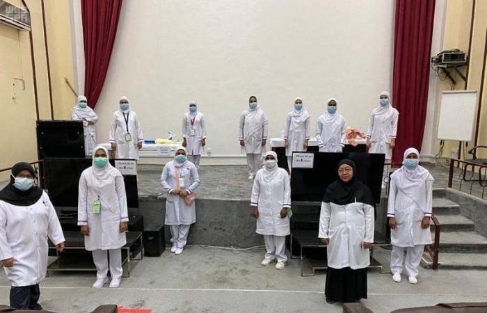 بالصور.. تدريب 356 طبيباً وممرضاً للتعامل مع الحالات الحرجة بحفر الباطن