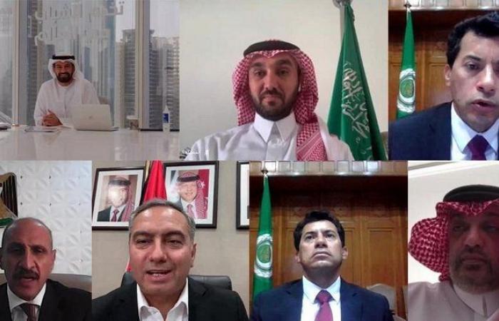 """""""الفيصل"""" يشارك في اجتماع المكتب التنفيذي لمجلس وزراء الشباب والرياضة العرب"""