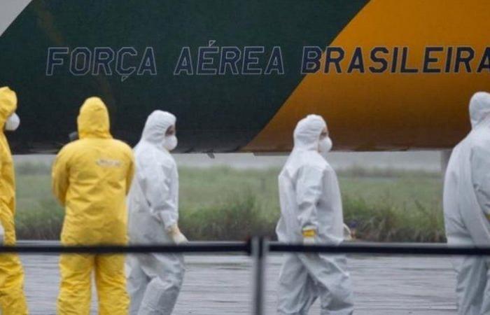 البرازيل: تسجيل أكثر من 20 ألف إصابة إضافية و620 وفاة جديدة بفيروس كورونا