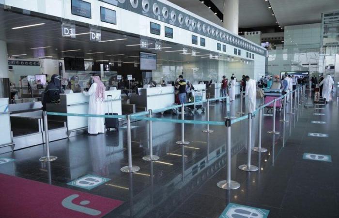 """""""مطارات الرياض"""" تدشن مشروع """"التحليل التفاعلي لمراقبة التباعد الاجتماعي"""""""