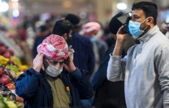 """العراق تسجل 2848 إصابة جديدة بـ""""كورونا"""" و78 حالة وفاة"""
