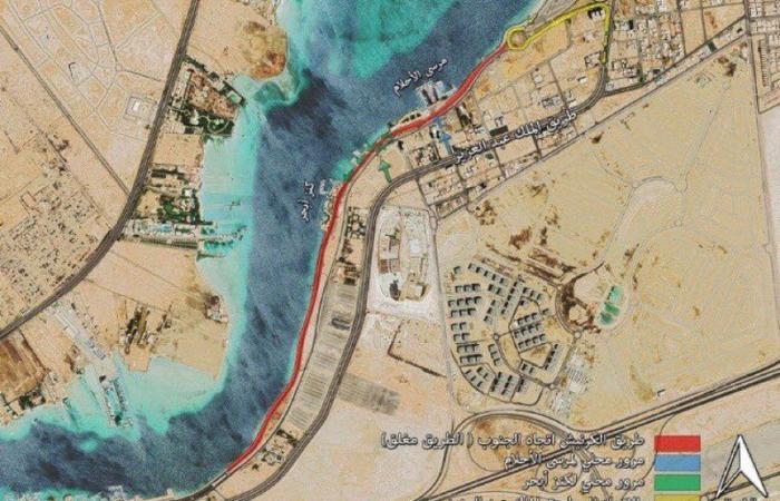 أمانة جدة: مشروع تطوير الواجهة البحرية يكلف 229 مليون ريال