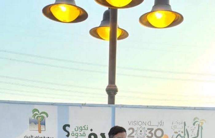 """فريق """"حمدانية جدة"""" ينظمون المشي الجماعي تحت شعار """"مشينا صحة وعبادة"""""""